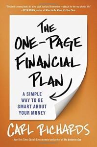 KSIAZKA The One-Page Financial Plan