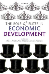 book The Role of Elites in Economic Development cover