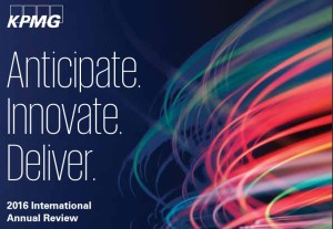 KPMG international-annual-review-2016 cover