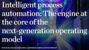 McKinsey March 2017 Intelligent process automation COVER TITLE