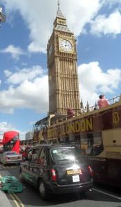 Londyn Big Ben fot. Grzybowski