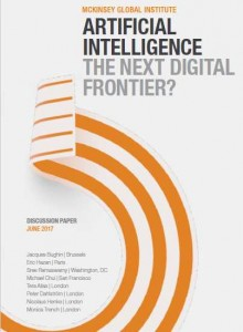 ARTIFICIAL INTELLIGENCE McK REPORT 2017 REPORT COVER